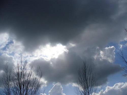 Un petit coin de ciel bleu...