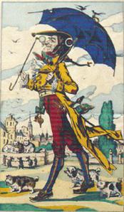 Cadet Rousselle dans l'imagerie populaire