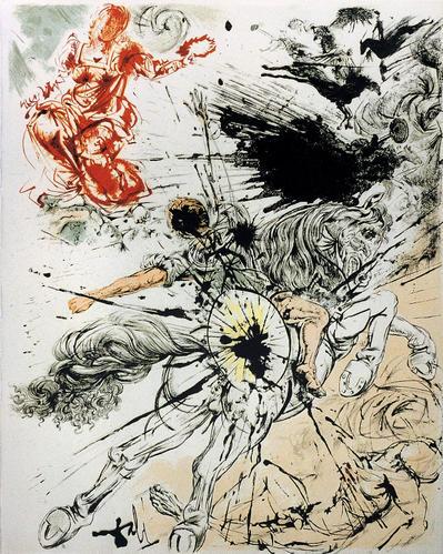Duclcinée de Salvador Dali