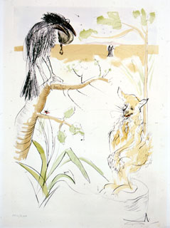 Illustration de Salvador Dali