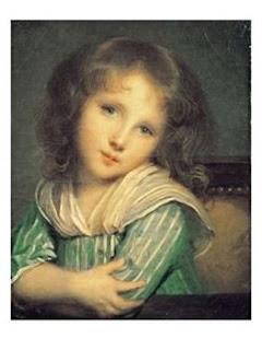 Jean-Baptiste Greuze, The girl at the window (Musée de St Petersbourg)