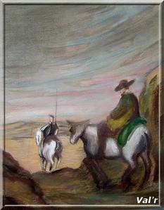 Val'r, d'après Daumier