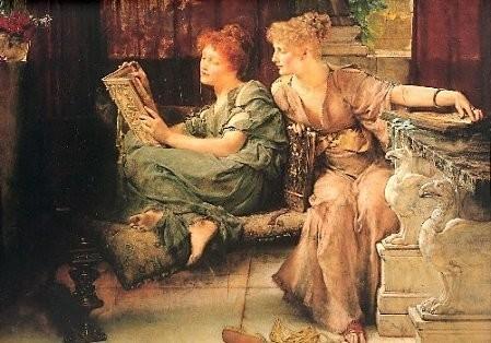 Sir Alma-Tadema, Comparaisons, 1892