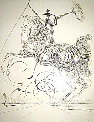 Dali, Don Quichotte