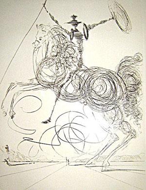 Dali, Don Quichotte