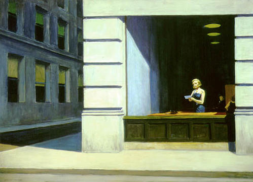 Edward Hopper, New York Office, 1962