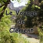 Le voyage de Clément, couverture