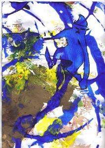 Le Lutin bleu par Tilk