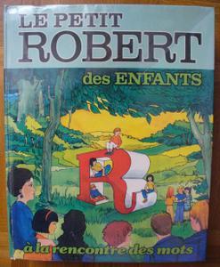 Le Petit Robert des Enfants (couverture)