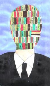 L'homme bibliothèque