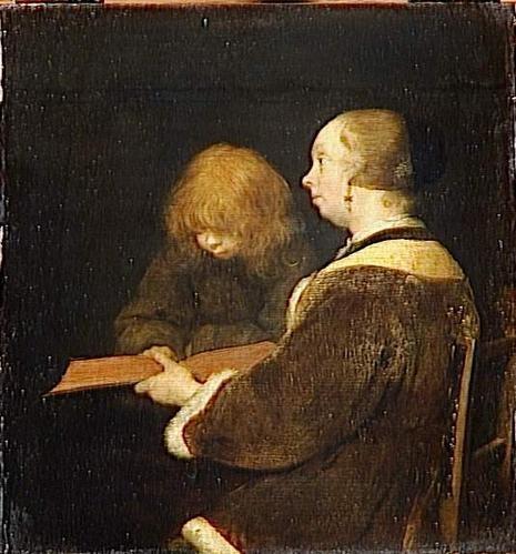 Gérard Ter Borch, La leçon de lecture