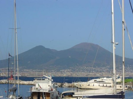 Vésuve & port de Naples