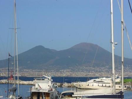Vésuve & port de Naples