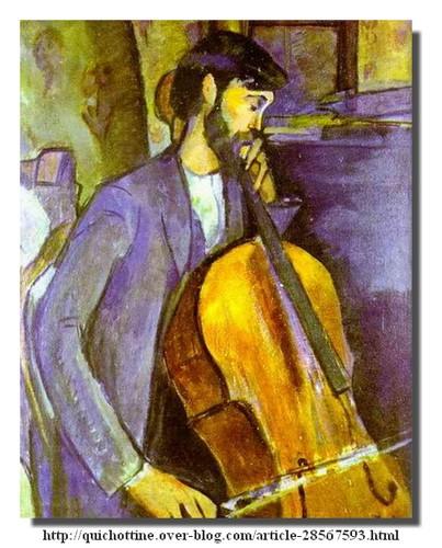 Modigliani, le viloncelliste