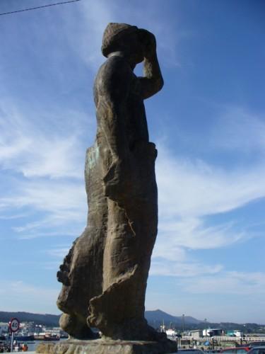 Monument aux gens de la mer, Ribeira, Espagne