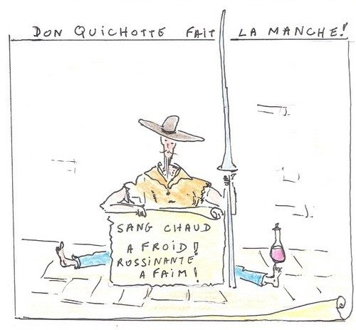 Don Quichotte et la crise, Georges Lévy, http://georges2.over-blog.com/