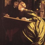 F.Leighton_The_Painter-s_Honeymoon_1864