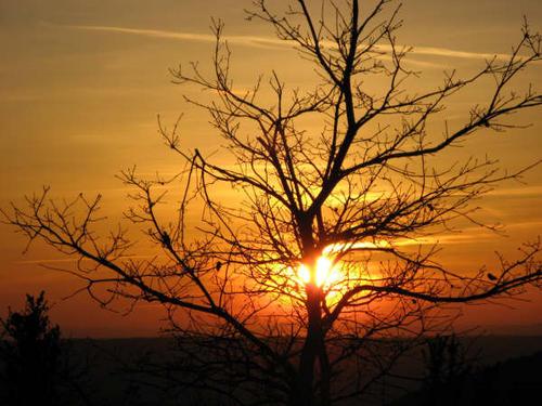 Coucher de soleil, Majastres