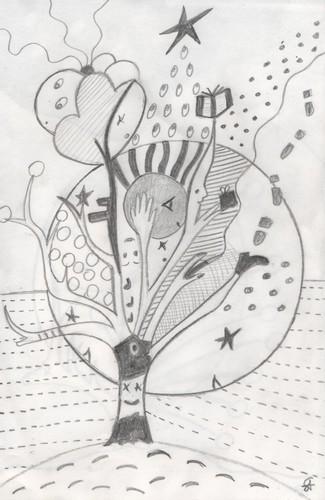 Solyzaan, quichottinier crayon