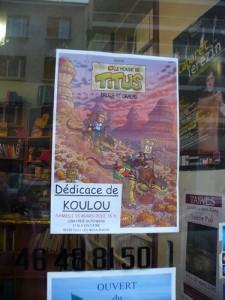 Koulou, dédicace du 13 mars 2010, 2