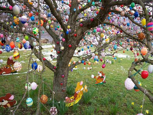 L'arbre de Pâques d'Angel