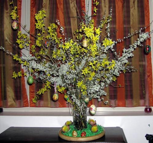 L'arbre de Pâques des Farfadets