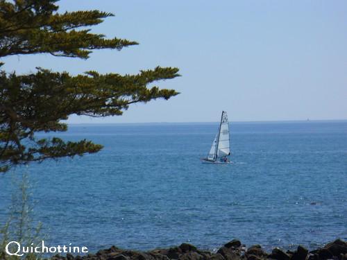 Quichottine, Mer en mai