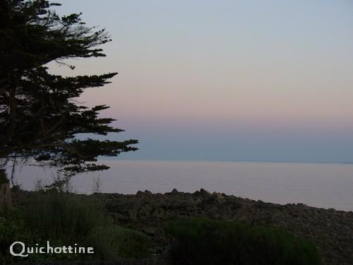 Quichottine, Crépuscule marin