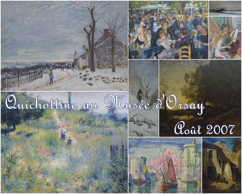 Tableaux du musée d'Orsay en 2007