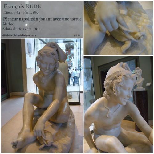 Le pêcheur napolitain de François Rude