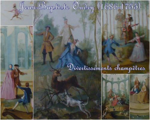 Jean-Baptiste Oudry, montage de divers détails