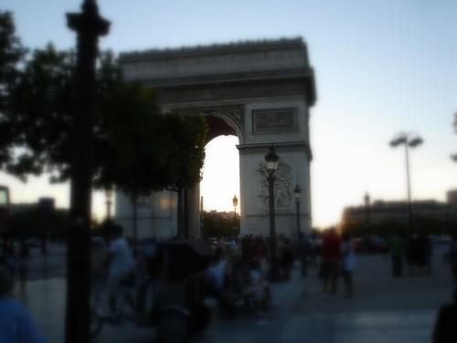 Arc de Triomphe, Paris, 20 août 2010