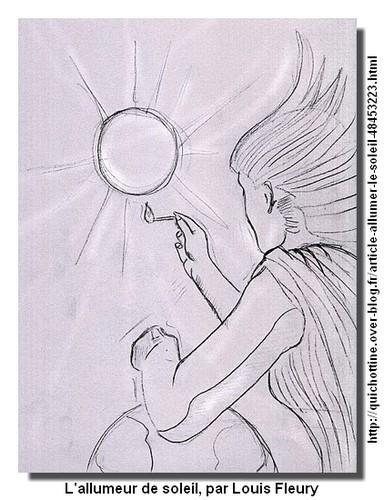 L'allumeur de soleil par Iloufou
