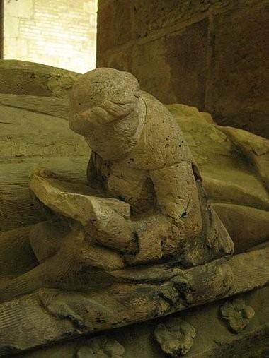 Le lecteur de pierre de l'abbaye de Fontenay