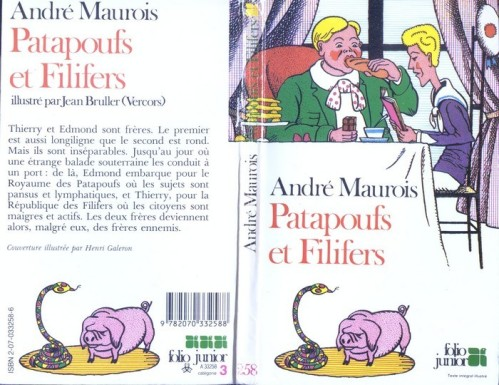Couverture de l'édition Folio Junior de 1984