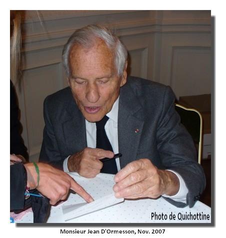 071124_Quichottine-et-Jean-D-Ormesson