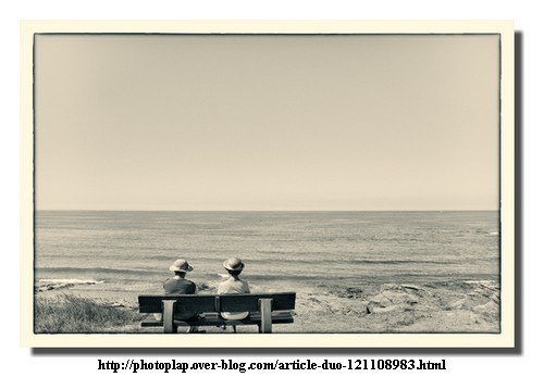 "Photographie de Gérard Méry, ""Duo"""