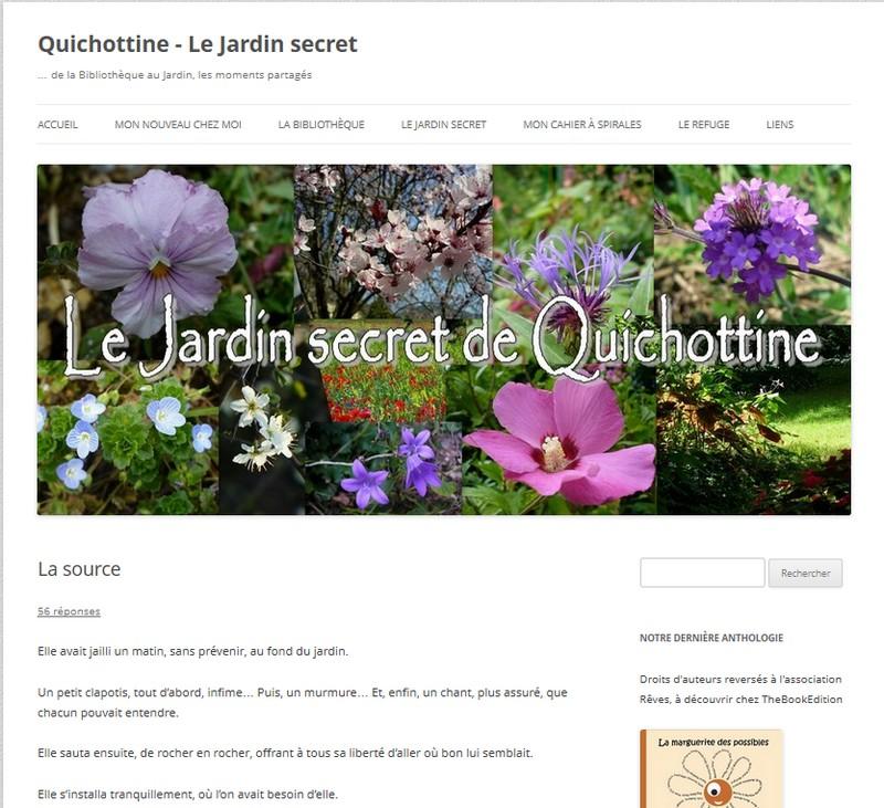 """l'article dans sa catégorie """"jardin secret"""""""