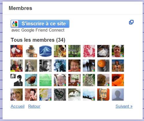 """Les"""" membres"""", comme une communauté."""