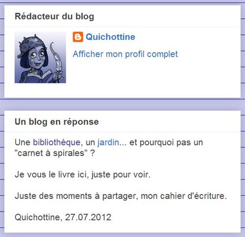 Un auteur, un nouveau blog.