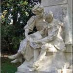 Photographie de Muad'Dib, Le monument Jules Verne à Nantes.