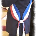L'écharpe d'élu municipal, pas seulement un symbole.