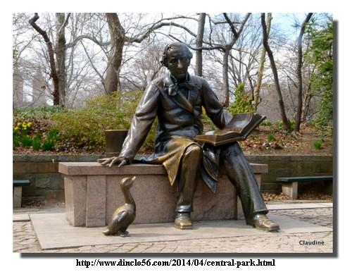 Photo de Claudine, Andersen à Central Park